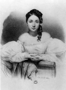 Juliette Drouet, par Alphonse-Léon Noël (1832)