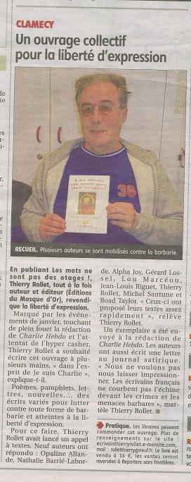 Journal du Centre article recueil