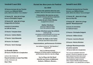 Poévie programme2016